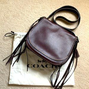 COACH 1941 Whiplash Saddle Bag Limited Edition